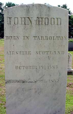 HOOD, JOHN - Schenectady County, New York | JOHN HOOD - New York Gravestone Photos