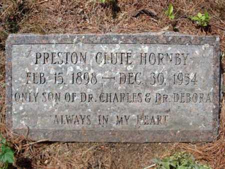 HORNBY, PRESTON CLUTE - Schenectady County, New York | PRESTON CLUTE HORNBY - New York Gravestone Photos