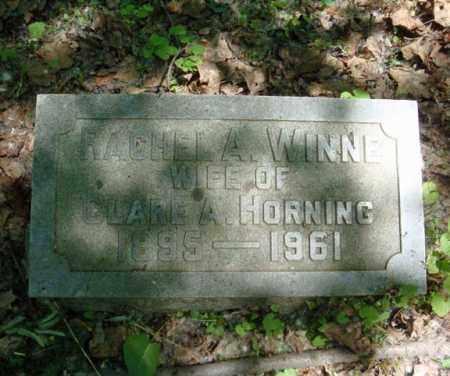 WINNE HORNING, RACHEL A - Schenectady County, New York | RACHEL A WINNE HORNING - New York Gravestone Photos