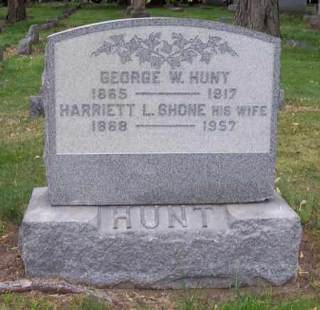 HUNT, GEORGE W. - Schenectady County, New York | GEORGE W. HUNT - New York Gravestone Photos