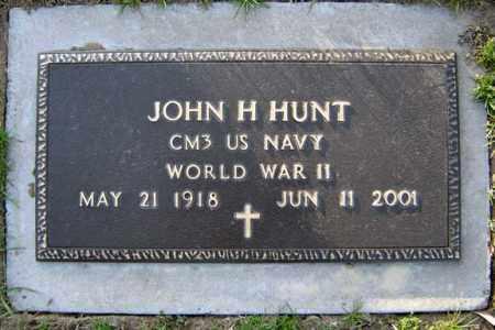 HUNT, JOHN H - Schenectady County, New York   JOHN H HUNT - New York Gravestone Photos