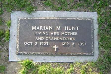 HUNT, MARIAN M - Schenectady County, New York | MARIAN M HUNT - New York Gravestone Photos