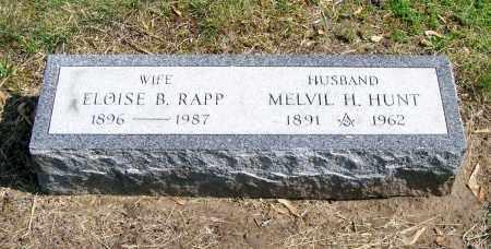 HUNT, ELOISE B. - Schenectady County, New York | ELOISE B. HUNT - New York Gravestone Photos