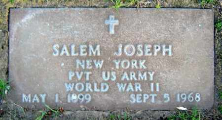 JOSEPH, SALEM - Schenectady County, New York | SALEM JOSEPH - New York Gravestone Photos