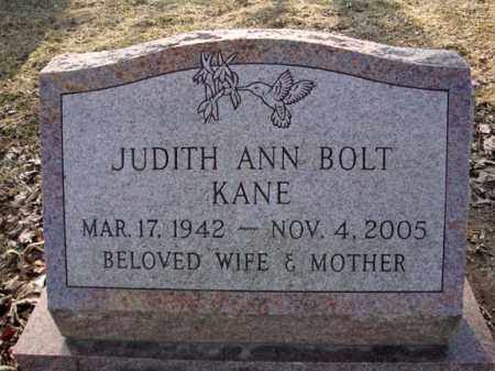 BOLT, JUDITH ANN - Schenectady County, New York | JUDITH ANN BOLT - New York Gravestone Photos