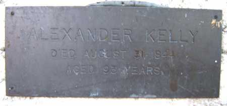 KELLY, ALEXANDER - Schenectady County, New York | ALEXANDER KELLY - New York Gravestone Photos