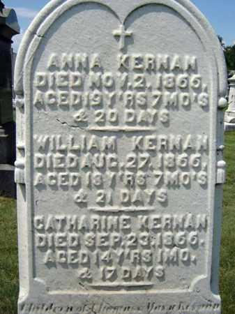 KERNAN, CATHARINE - Schenectady County, New York | CATHARINE KERNAN - New York Gravestone Photos