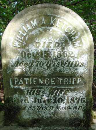 TRIPP KETCHAM, PATIENCE - Schenectady County, New York | PATIENCE TRIPP KETCHAM - New York Gravestone Photos