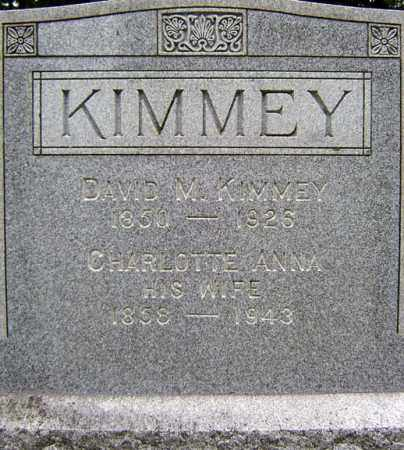 KIMMEY, DAVID M - Schenectady County, New York | DAVID M KIMMEY - New York Gravestone Photos