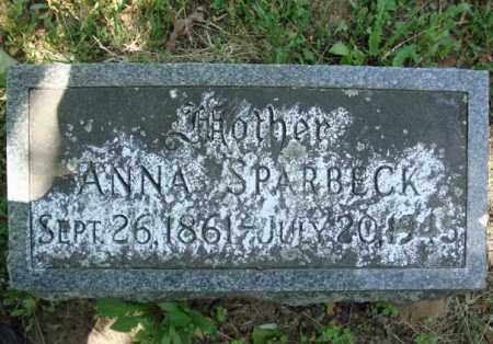 SPARBECK, ANNA - Schenectady County, New York | ANNA SPARBECK - New York Gravestone Photos