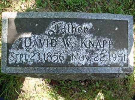 KNAPP, DAVID W - Schenectady County, New York | DAVID W KNAPP - New York Gravestone Photos