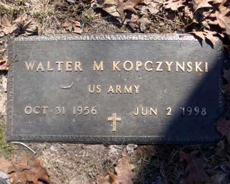 KOPCZYNSKI, WALTER M - Schenectady County, New York | WALTER M KOPCZYNSKI - New York Gravestone Photos