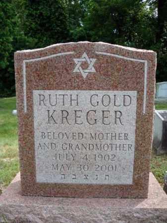 KREGER, RUTH - Schenectady County, New York | RUTH KREGER - New York Gravestone Photos