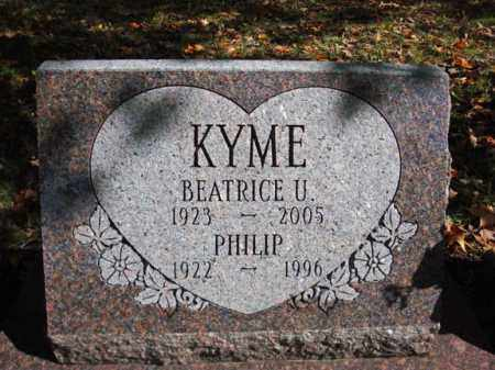 KYME, PHILIP - Schenectady County, New York | PHILIP KYME - New York Gravestone Photos