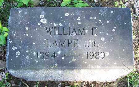 LAMPE, WILLIAM F. JR. - Schenectady County, New York | WILLIAM F. JR. LAMPE - New York Gravestone Photos