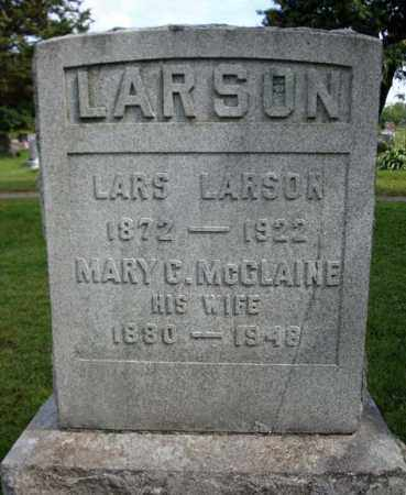 LARSON, LARS - Schenectady County, New York | LARS LARSON - New York Gravestone Photos
