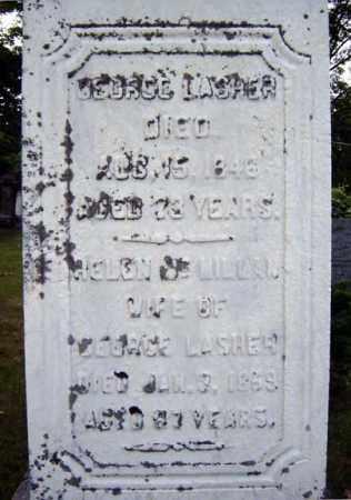 LASHER, HELEN - Schenectady County, New York   HELEN LASHER - New York Gravestone Photos