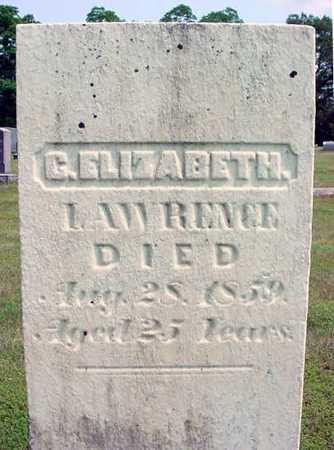 LAWRENCE, C. ELIZABETH - Schenectady County, New York   C. ELIZABETH LAWRENCE - New York Gravestone Photos