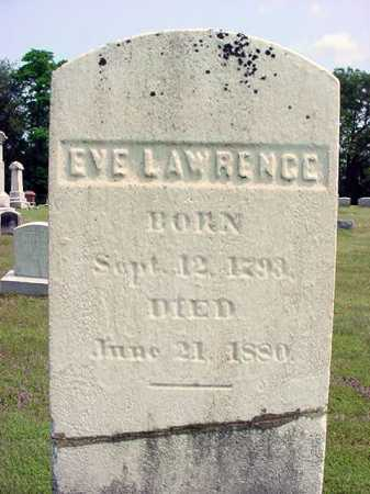 LAWRENCE, EVE - Schenectady County, New York | EVE LAWRENCE - New York Gravestone Photos
