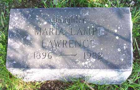 LAMPE LAWRENCE, MARIA - Schenectady County, New York | MARIA LAMPE LAWRENCE - New York Gravestone Photos