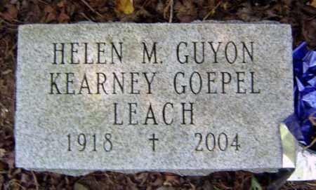 LEACH, HELEN M - Schenectady County, New York   HELEN M LEACH - New York Gravestone Photos