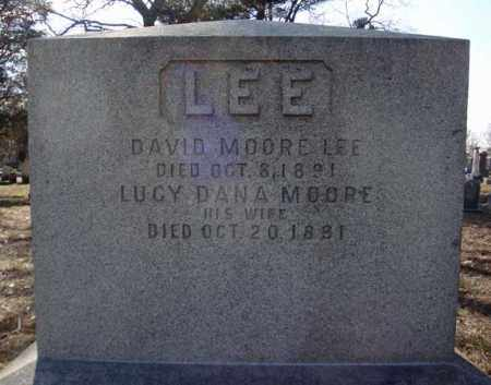 MOORE LEE, LUCY DANA - Schenectady County, New York | LUCY DANA MOORE LEE - New York Gravestone Photos