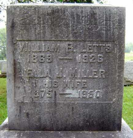 MILLER, ELLA J - Schenectady County, New York | ELLA J MILLER - New York Gravestone Photos