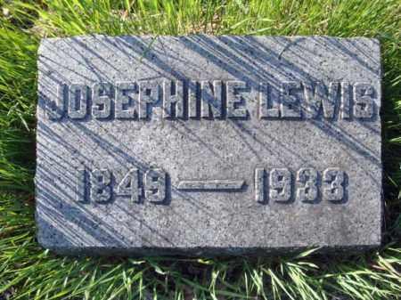 LEWIS, JOSEPHINE - Schenectady County, New York | JOSEPHINE LEWIS - New York Gravestone Photos