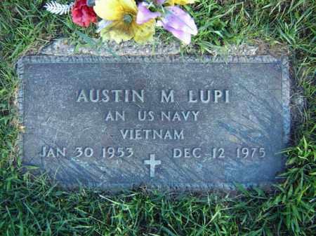 LUPI, AUSTIN M - Schenectady County, New York | AUSTIN M LUPI - New York Gravestone Photos