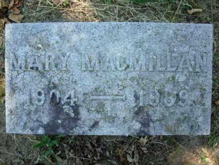 MACMILLAN, MARY - Schenectady County, New York | MARY MACMILLAN - New York Gravestone Photos