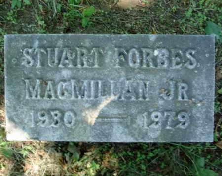 MACMILLAN, STUART FORBES - Schenectady County, New York | STUART FORBES MACMILLAN - New York Gravestone Photos