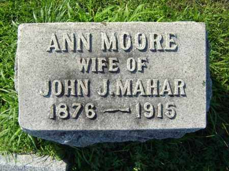 MOORE, ANN - Schenectady County, New York | ANN MOORE - New York Gravestone Photos