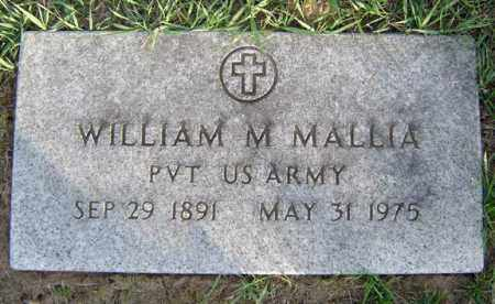 MALLIA, WILLIAM M - Schenectady County, New York | WILLIAM M MALLIA - New York Gravestone Photos