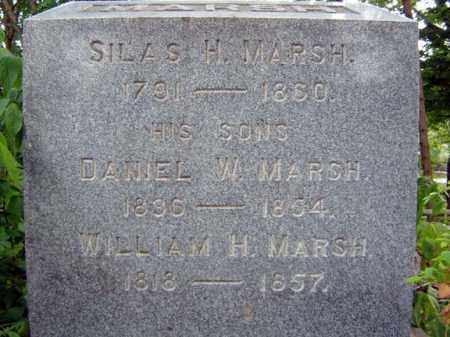 MARSH, SILAS H - Schenectady County, New York | SILAS H MARSH - New York Gravestone Photos