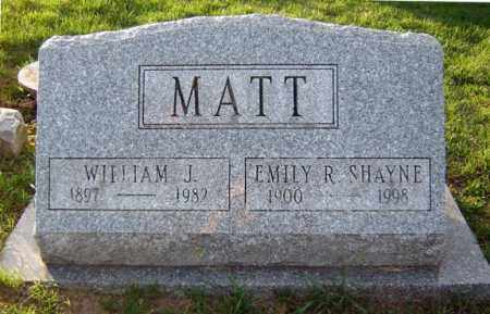 MATT, EMILY R - Schenectady County, New York | EMILY R MATT - New York Gravestone Photos