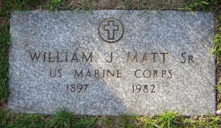 MATT, WILLIAM J - Schenectady County, New York   WILLIAM J MATT - New York Gravestone Photos