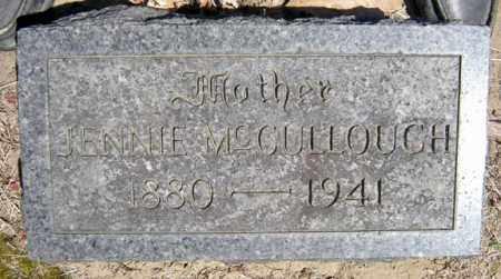 MCCULLOUGH, JENNIE - Schenectady County, New York | JENNIE MCCULLOUGH - New York Gravestone Photos