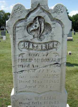 MCDONALD, CATHRINE - Schenectady County, New York | CATHRINE MCDONALD - New York Gravestone Photos