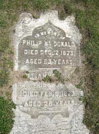 MCDONALD, PHILIP - Schenectady County, New York | PHILIP MCDONALD - New York Gravestone Photos