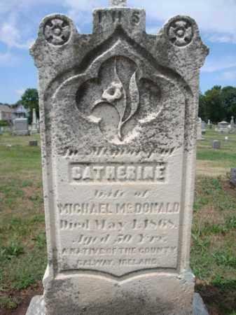 MCDONALD, CATHERINE - Schenectady County, New York | CATHERINE MCDONALD - New York Gravestone Photos