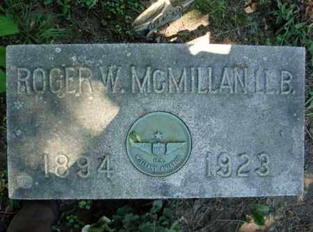 MCMILLAN, ROGER W - Schenectady County, New York | ROGER W MCMILLAN - New York Gravestone Photos
