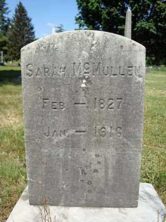 MCMULLEN, SARAH - Schenectady County, New York | SARAH MCMULLEN - New York Gravestone Photos