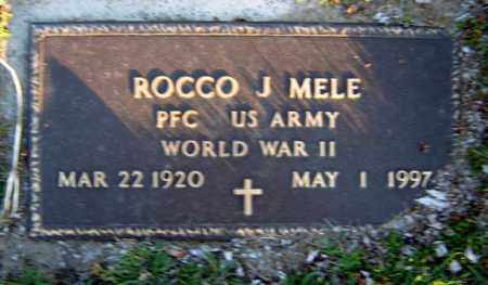MELE, ROCCO J - Schenectady County, New York | ROCCO J MELE - New York Gravestone Photos
