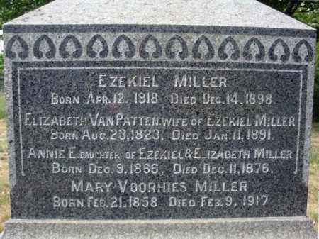 VOORHIES MILLER, MARY - Schenectady County, New York | MARY VOORHIES MILLER - New York Gravestone Photos