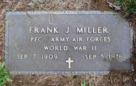MILLER, FRANK J - Schenectady County, New York | FRANK J MILLER - New York Gravestone Photos