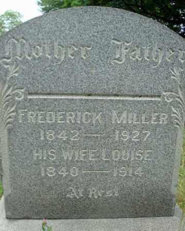 MILLER, LOUISE - Schenectady County, New York | LOUISE MILLER - New York Gravestone Photos