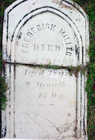 MILLER, FREDERICK - Schenectady County, New York | FREDERICK MILLER - New York Gravestone Photos