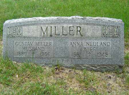 MILLER, GUSTAV - Schenectady County, New York | GUSTAV MILLER - New York Gravestone Photos