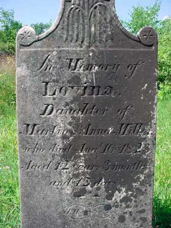 MILLER, LOVINA - Schenectady County, New York   LOVINA MILLER - New York Gravestone Photos