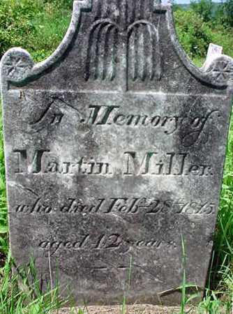 MILLER, MARTIN - Schenectady County, New York | MARTIN MILLER - New York Gravestone Photos